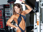 Trish Mayberry most muscular fitness women