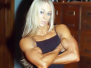 Mindy OBrien is one of the most leanly defined fit...