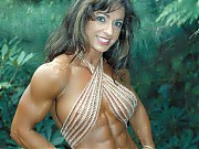 The beautiful Karen Zaremba hits the bodybuilding ...