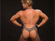 Very hot IFBB Pro Emery Miller