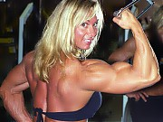 Sherry Smith's physique is complete with a heavily...