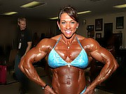Female bodybuilders, fitness babes, naked muscular...