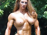 Girls with muscles, female bodybuilders, fitness b...