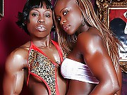 Beautiful black female bodybuilders in the world