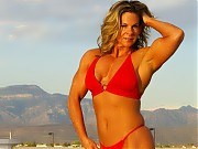 The 47 year old Kelly Dobbins shows off impressive...