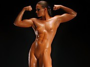 Beautiful girls with muscles, a lot of female body...