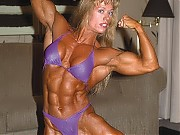 Melinda McNab's great shots of her powerful back, ...