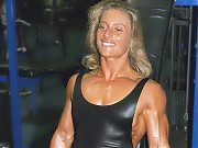 Chris Porter one of the most muscular women in the...