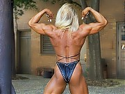 Bethany Howlett shows an unreal amount of muscular...
