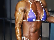 Michele Burdick have a national caliber bodybuildi...