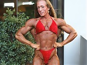 Renee O'Neill is muscular and defined middleweight...