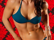 Beautiful and sex IFBB Pro figure competitor Cathe...