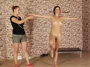 Crop for nude training